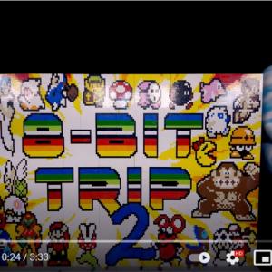 8ビットゲームの世界をレゴブロックでストップモーションアニメにした動画 「スゴイ映像だ」「10年以上待った甲斐があったよ」