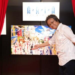 『ARIA』シリーズ初の展覧会「ARIA The MEMORIA」原作からアニメまで充実の内容!佐藤順一監督「予想を超える豪華さにビックリしました!」