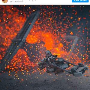 プロのフォトグラファーが撮影した「レゴ スター・ウォーズ」のオモ写 「素人には撮れない写真だよ」「どうすればこういう写真撮れるんだろう」