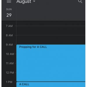 電話の予定が入っている日は終日大忙しなんです 「ランチなんて食べてる場合じゃないし」「ボクの明日の予定がまさにこれ」
