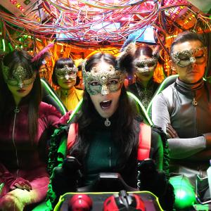 『劇場版 ルパンの娘』超絶進化したガジェットに注目! 空を飛ぶ「てんとう虫3号」が物語の鍵を握る
