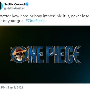 Netflixによる実写版『ONE PIECE』のタイトルロゴと台本が公開 「Netflixは前科が多すぎるからな」「尾田本人が関与してるので期待してる」