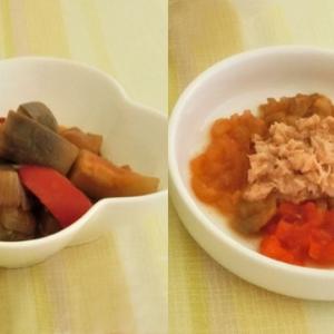 トマトピューレーのラタトゥイユで取り分け後期離乳食!冷凍も