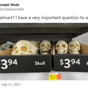 この2つの商品が同じ価格ってどういうこと? 「ウォルマートでは命の値段も安いんだよ」「普通は本物のほうが少し割高じゃないかな」