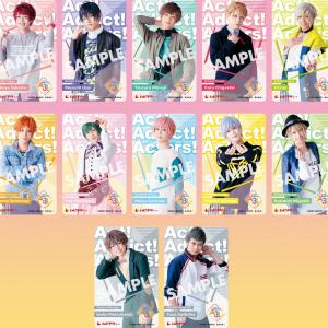 『MANKAI MOVIE「A3!」』春夏組 撮り下ろし単独キャラクタービジュアル解禁!ムビチケも発売決定