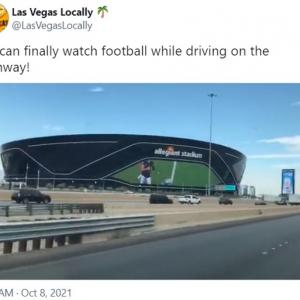 交通事故を誘発しそうなスタジアム 「ものすごい交通事故が起きそう」「レイダースの試合より映画が観たい」