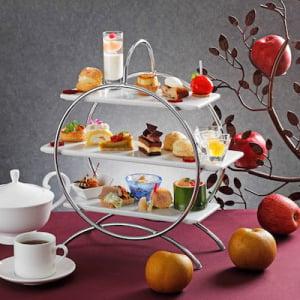 秋から冬のお楽しみ!りんごと洋梨がコラボレーションしたアフタヌーンティーが登場