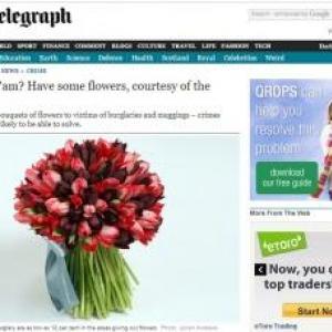 ロンドン警視庁、逮捕が見込めない案件の被害者に花束を贈る……「それよりも犯人逮捕を」の声も