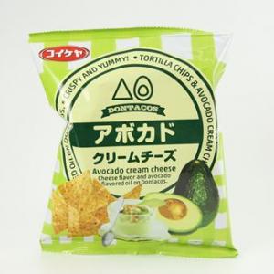 トルティアチップス アボカドクリームチーズ味(コイケヤ)フォトレビュー