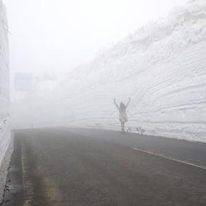 2013年八甲田山『雪回廊』の旅。