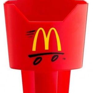 マクドナルドがポテトを車内で食べられる『ポテトホルダー』を発表 数日前に2chでリークされていた!