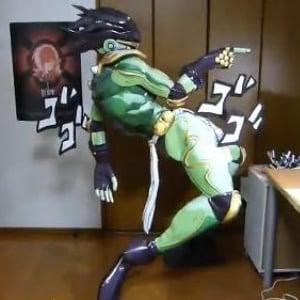 ジョジョのスタープラチナが立体になった! 『ニコニコ超会議2』にも出展で「オラオラオラオラァ!」