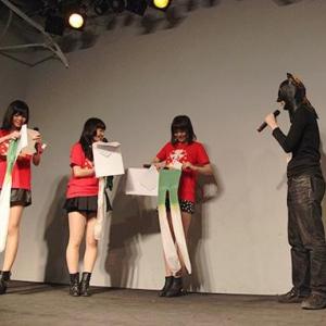 『Negicco』というアイドルのライブイベントにマスクを被った男が乱入! その後……