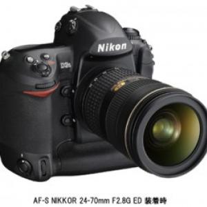 ニコン、FXフォーマットデジタル一眼レフカメラの新フラッグシップ『ニコンD3S』発売
