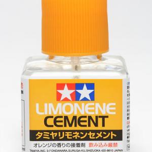あの『タミヤセメント』がさわやかなオレンジの香りに!『タミヤ リモネンセメント』