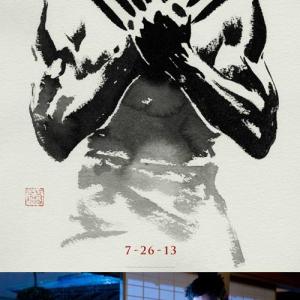 映画『ウルヴァリン:SAMURAI』の墨絵ポスターが格好良すぎて盗難続出! 懲りずに第2弾も作ったらしい