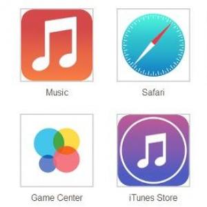 iOS7の噂のフラットアイコンが流出するが実はフェイクだったらしくiPhoneユーザーひと安心