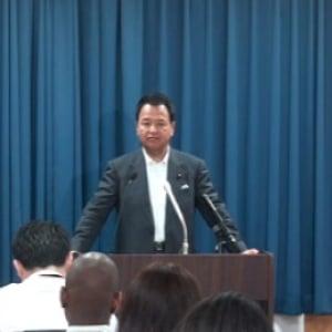 甘利明内閣府特命担当大臣 閣議後記者会見(6月11日)【動画】