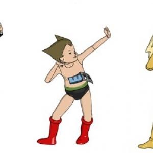 アトムやヤッターマン、ブラック・ジャックなど名作アニメが迷作に? 脱力系CGアニメ『Peeping Life』とコラボ!