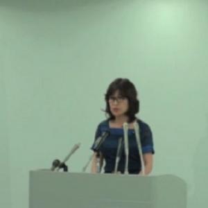 稲田朋美・内閣府特命担当大臣定例会見「表現の自由は憲法上優越的な地位を占めている」(2013年6月25日)
