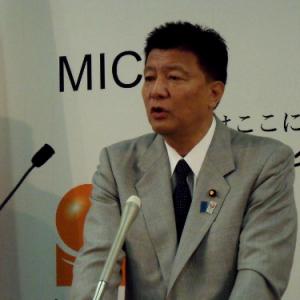 新藤義孝・総務大臣定例会見「ネット選挙運動の解禁は画期的」(2013年6月28日)