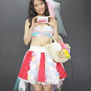 世界最薄アイドルの戸田れいがガジェット編集部に乱入し既婚男性にサガミ避妊具を配る!