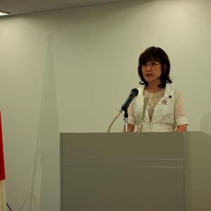 稲田朋美・内閣府特命担当大臣定例会見「知財本部とクールジャパン推進会議の連携を進めていく」(2013年7月9日)