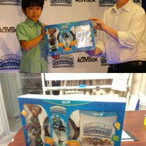 フィギュアとテレビゲームが融合した海外で大人気の『スカイランダーズ』が日本でついに発売 福くん「もう一回やりたい!」