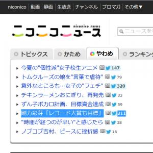 剛力彩芽さんの「1万人の剛力ファミリー」「レコード大賞も目標」記事にネットユーザー困惑