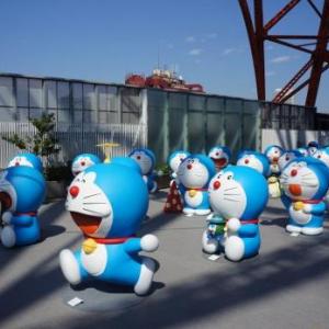 4Dプロジェクションマッピングと80体のドラえもんがお出迎え! 「藤子・F・不二雄展」レポート