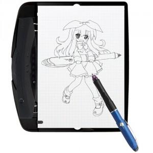 ぺんてる、紙に描いたイラストをデジタル化できる『airpenDraw』限定発売へ