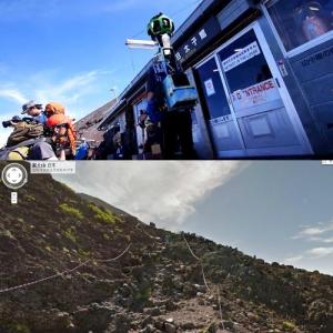 Googleが富士山のストリートビューを公開! 富士山の登山気分が味わえる
