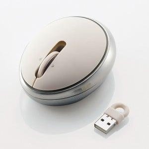 スプーンのように丸く輝くワイヤレスレーザーマウス『Like a SPOON』