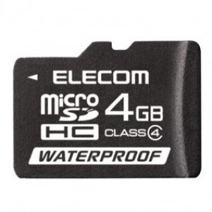"""エレコム、水に濡れても安心な""""防水仕様""""のmicroSDHCカード発売へ"""