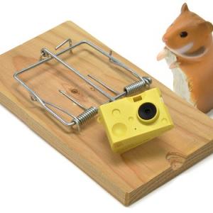 「ハイ、チーズ!」がそのまま形に!? とっても可愛いチーズ型ミニカメラに胸キュン!