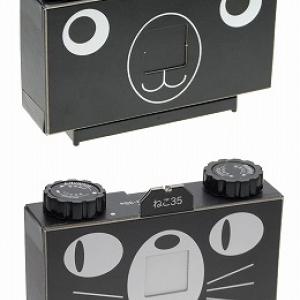 組み立てて作るピンホールカメラ『クマサンゴ』『ネコサンゴ』