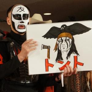 『ローン・レンジャー』いよいよ日本公開! 鉄拳による「こんなトントは嫌だ」