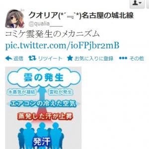 """コミックマーケット84 2日目 参加者の熱気(?)で会場に伝説の""""コミケ雲""""が発生"""
