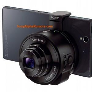 "Sonyのスマートフォン向け外付けレンズキット風デジカメ""Lenz-Camera""のプレス画像が流出、モデル名は「DSC-QX10」「DSC-QX100」らしい"