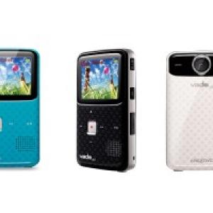 携帯電話サイズでハイビジョン! ポケットビデオカメラ『Creative Vado』に新モデル登場