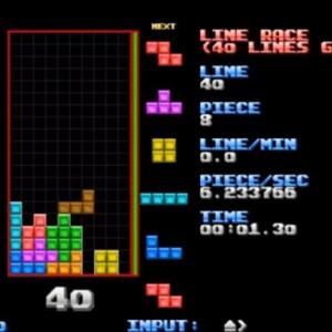 テトリスのプロが速すぎ! 40ラインを19.68秒で削除するという人間離れしたプレイ