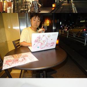 【ソルデジ】『魔法少女まどか☆マギカ』モデルのパソコンでスタバでドヤ顔してきた!