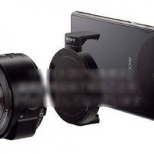 """Sonyのスマートフォン向け""""Lens-Camera""""の画像がまた流出、今回はマウンターや付属ケースの画像も"""