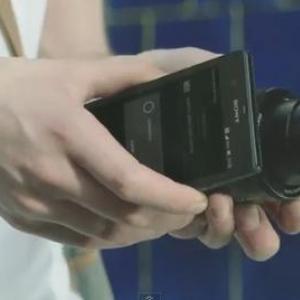 """ソニーが発表予定の""""レンズカメラ""""の動画がリーク? iPhoneやAndroidにWi-Fi経由で画像を転送"""