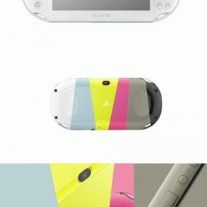 『SCEJA Press Conference 2013』で新型『PS VITA』が発表される 1万9929円で10月10日発売で6色のカラーバリエーション