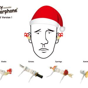 今度は「耳からキノコ生えてるよ!」おバカ系イヤホン『クレイジーイヤホン』に新ラインアップ