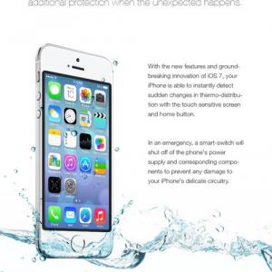 「iOS7を入れたら防水になるよ」と海外でデマが広まり被害者続出! 偽クックも登場
