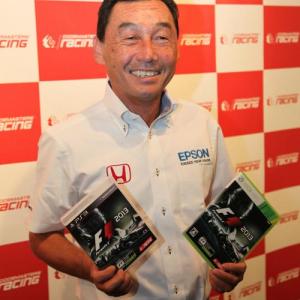 『F1 2013』の体験会にあの中嶋悟が登場! 80年代の名車やドライバーが復活する『F1 CLASSICS』モード搭載