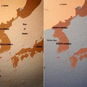 韓国人がロスのカウンティ美術館の地図から「日本海」表記を削除