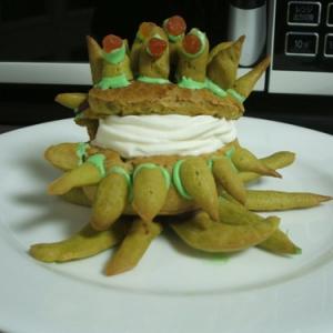 不気味な『FF』のモンスター! モルボルのケーキを作った人